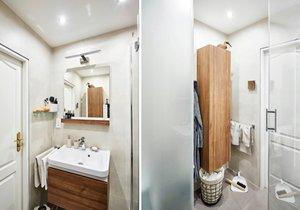 Koupelna v paneláku může být moderní a funkční