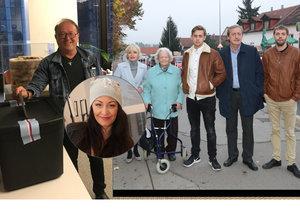 České celebrity šly k volbám už dnes. Podívejte se kdo.