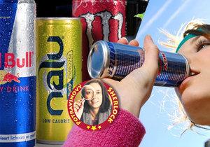 Energetické nápoje: Pozor na množství a triky výrobců