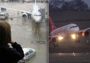 Holčičce se podařilo dostat na palubu letadla bez povšimnutí. (Ilustrační foto)