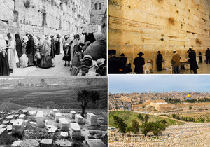 Cestování v čase: Podívejte se, jak se za 100 let změnil Jeruzalém!