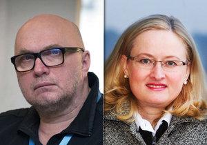 Jan Macháček a Monika MacDonagh Pajerová se střetli v Českém rozhlase. Nedopadlo to dobře.