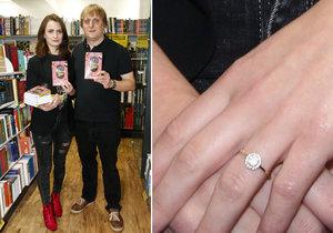 Záhadný prstýnek přítelkyně Tydýta Pavláska! Bude svatba?