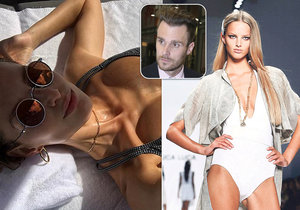 Marešova ex šokuje vyhublou fotkou: Kost, kůže a prsa!