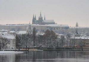 Přes týden bude v Praze příjemných 7 stupňů. V neděli má přijít déšť se sněhem