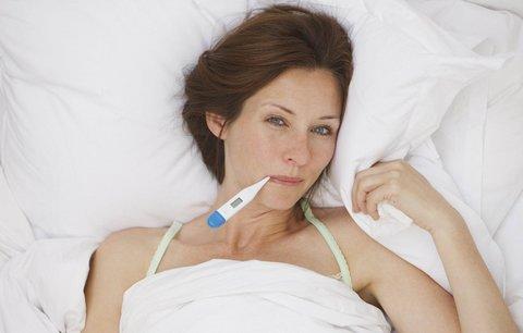 Už je to tady zase! Sedá na vás nachlazení nebo chřipka? Poznejte příznaky