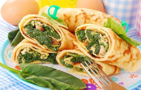 Блинчики с яйцом и зеленым луком рецепт с фото