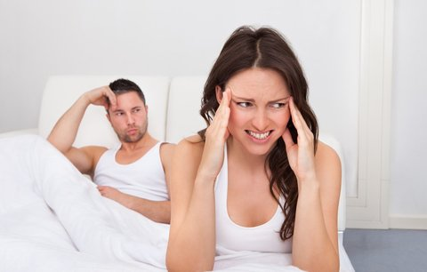 Bolest hlavy může zničit partnerský sexuální život. Braňte se!