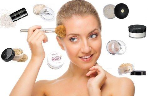 Kosmetické testování fixačních pudrů: Který vám vykouzlí porcelánovou pleť?