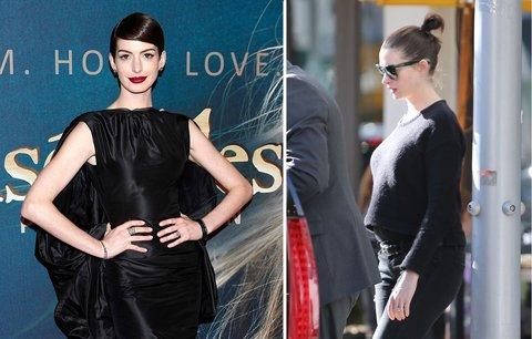 Nakonec se to povedlo: Anne Hathaway bude maminkou