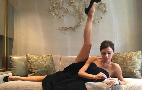 Celebrity na síti: ohebná Victoria Beckham a Beyoncé na titulce