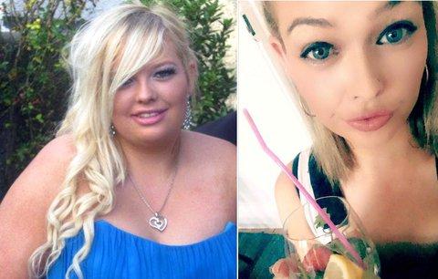 Dívka zhubla o 44 kilogramů, ale pořád se sebou nebyla spokojená