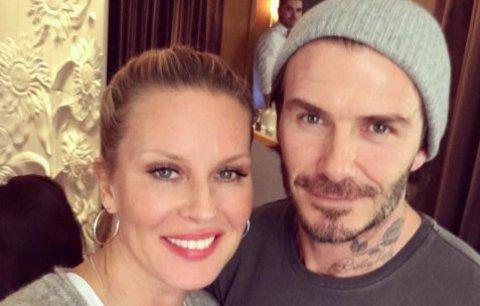 Celebrity na síti: Krainová s Beckhamem a okouzlující Petra Němcová