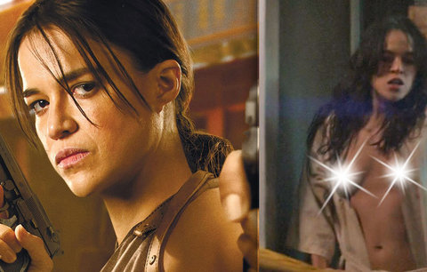 Hvězda Rychle a zběsile Michelle Rodriguez: V novém filmu se objeví úplně nahá