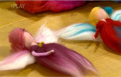 Video: Vyrobte si víly a anděly z ovčího rouna