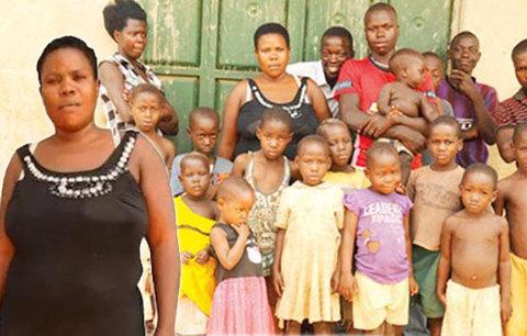 Supermáma má v 37 letech 38 dětí! První porodila už v třinácti