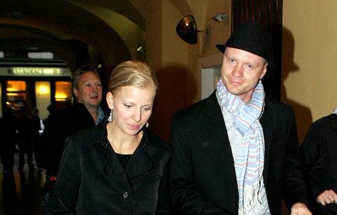 Jan Budař s přítelkyní