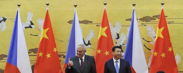Zeman se jel do Číny učit o lidských právech: Chce podle nich stabilizovat společnost!