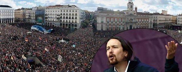 Levice po Řecku na vzestupu i ve Španělsku: Stovky tisíc lidí v ulicích!