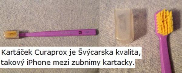 Nejšílenější inzerát Česka? Použitý kartáček za 50 Kč! Prý je to iPhone mezi kartáčky…