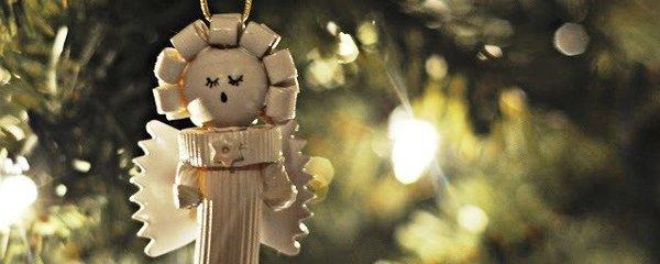 Vánoční ozdoby z těstovin: Vyrobte si roztomilé andělíčky
