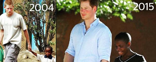 Princ nezapomíná! Harry se po 11ti letech setkal s kamarádem sirotkem