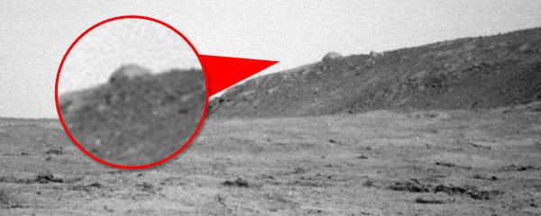 Záhadná kopule na Marsu: Postavili ji mimozemšťané?