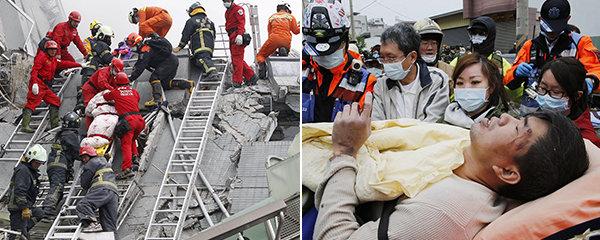 Nejméně 7 mrtvých při silném zemětřesení v Tchaj-wanu. Desítky lidí pohřešují