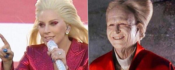 Lady Gaga jako Drákula: 15 lidí, postav a předmětů, které vypadají jako zpěvačka na Super Bowlu