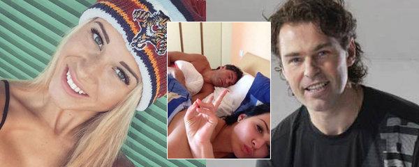 Propletené vztahy Jaromíra Jágra: Hokejistova nová láska je kamarádka jeho postelové selfie slečny