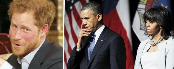 Drsná hádka Obamových a prince Harryho: Válku na Twitteru rozpoutalo sportovní klání