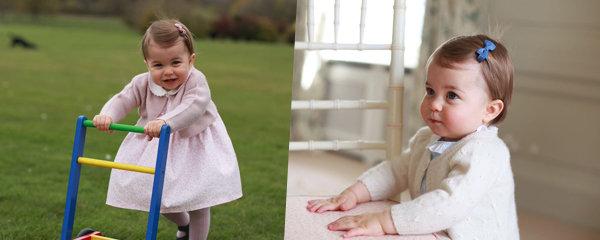 Princezna Charlotte v růžovém: Roztomilé snímky dcerky vyfotila vévodkyně Kate