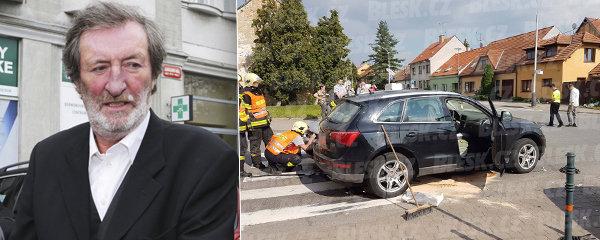 Polívku odvezli po nehodě k lékaři: Na co mu přišli?