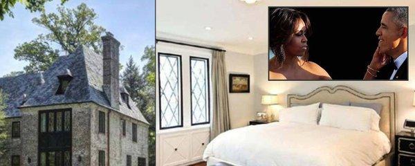 Podívejte se do nové ložnice Baracka Obamy a jeho Michelle. I do obří kuchyně