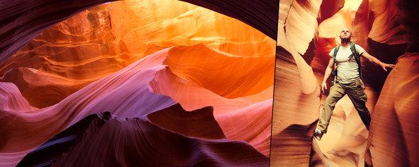 Snímky jako z jiného světa: Antilopí kaňon v Arizoně láká především fotografy