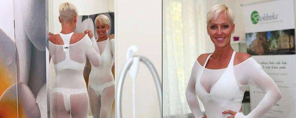 """Sexy Belohorcová se nechala """"mumifikovat""""! Chce tak zhubnout"""