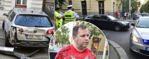 Expolicista Kadlec opět boural, ale na magistrátu na něj čeká nový řidičák