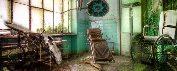 Nemocné pacienty tu léčili elektrošoky: Opuštěná psychiatrie je jak z hororu
