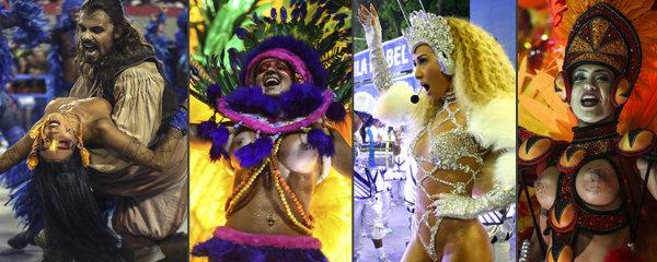 Nejkrásnější prdelky a prsa v Riu: Svátek sexu a tance vrcholí