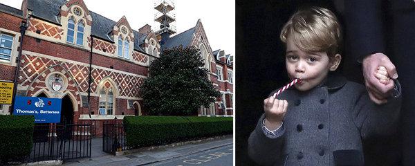 """Princ George jde do školy: Nejlepší přátelé tam jsou """"zakázáni"""""""