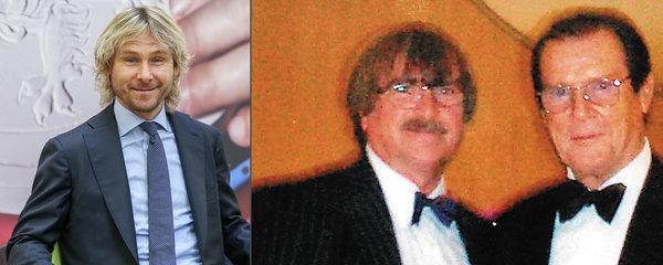 Zenulý představitel Jamese Bonda Roger Moore: Znal se s Karlem Vágnerem a obdivoval Pavla Nedvěda