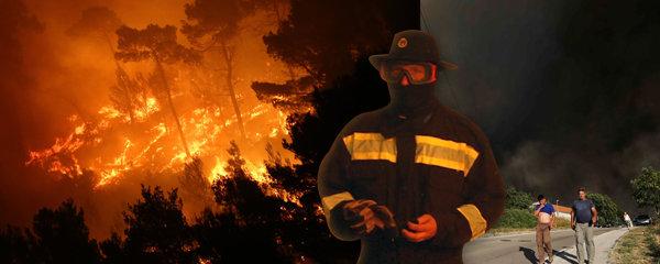 Chorvatskem otřásají exploze: Lesní požár způsobil výbuchy min z války