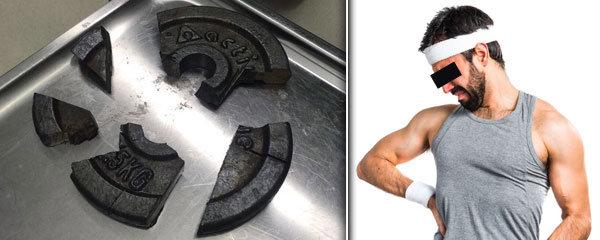 Muž strčil v posilovně penis do kotouče na činku: Ven mu ho hasiči vyřezávali 3 hodiny bruskou