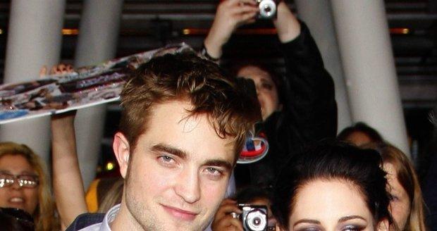 Kristen s Robertem na premiéře filmu Twilight.