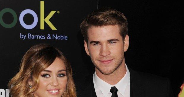 Liam se zasnoubil s Miley Cyrus