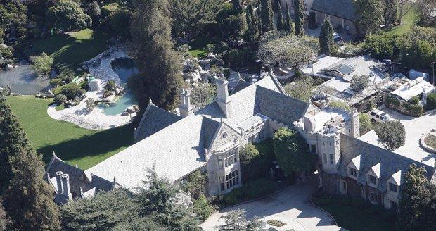 Rezidence Hefnera v jižní Kalifornii