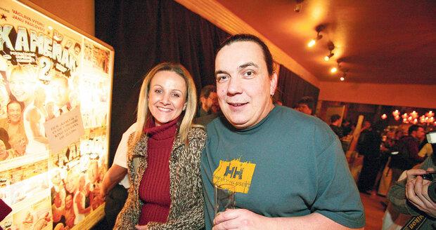 Genzer s Lindou před 8 lety