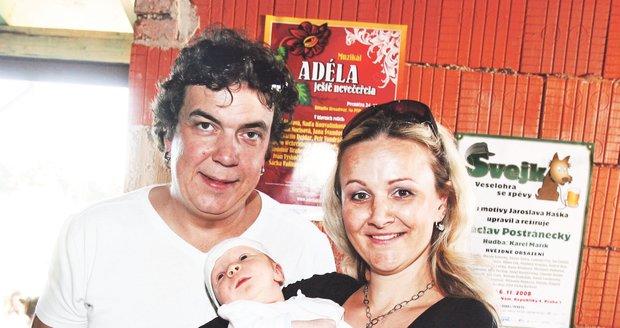 2008 Při narození syna Matyáše