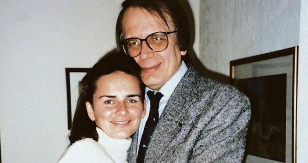 Magdalena Šimková s tátou
