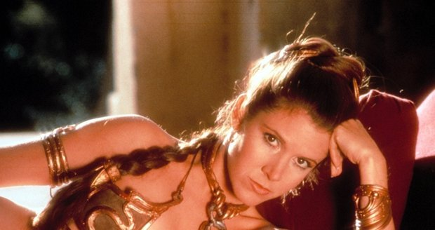 Princezna Leia ve zlatých plavkách je legendou.